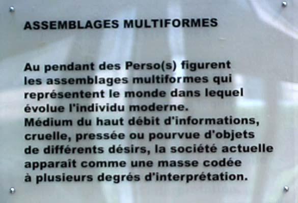 Assemblages Multiformes
